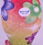 Iris zeemeerminstaart met monovin en rugtas_