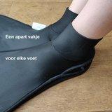 Losse Volwassen Monovin met voetpockets - schoenmaat 36-44_