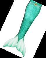 Green princess zeemeerminstaart met monovin