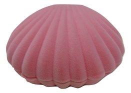 Roze schelpendoosje voor ketting of oorbelletjes