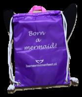 Rugtas voor kinder zeemeerminstaart