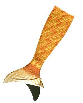 Oranje zeemeerminstaart met monovin