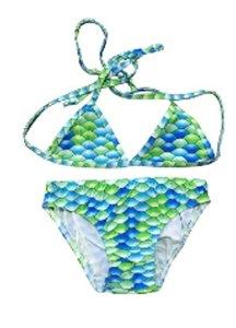 Bikini blauw/groen