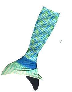 Groenblauwe zeemeerminstaart